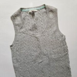 Merona Sleeveless Sweater Gray Size XS